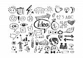 picture of sketch book  - an images of Design  hand doodle Business doodles - JPG
