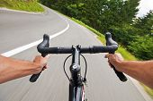 Image of cycling.