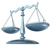 stock photo of justice law  - Scale of justice  - JPG