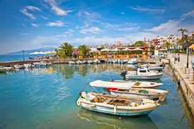 picture of albania  - Saranda city port  at ionian sea - JPG