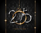 stock photo of christmas party  - 2015 New Year and Happy Christmas background for your flyers - JPG
