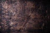 picture of scratch  - Old scratched black dark background texture pattern - JPG