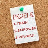pic of empower  - The way to success with your people or staff is to Train - JPG
