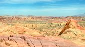 """stock photo of valley fire  - """"Adventure in Color"""" Rainbow Vista Valley of Fire State Park Nevada - JPG"""