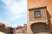 Remarkable Window Of Warsaw's Old Town