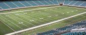 pic of football field  - Aerial view of an American football field - JPG