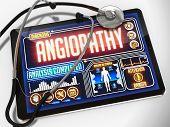foto of diabetes symptoms  - Angiopathy  - JPG