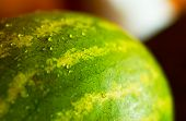 Watermelon in close look. poster