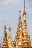 picture of yangon  - The Shwedagon Pagoda - JPG
