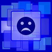 picture of angry smiley  - Sad smiley icon - JPG