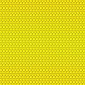 stock photo of beehive  - Abstract geometric pattern with honeycombs - JPG