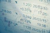 picture of stock market crash  - Financial concept - JPG