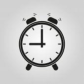image of clocks  - The Alarm clock icon - JPG
