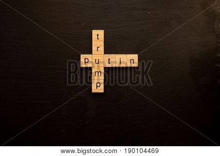 Toy letter blocks