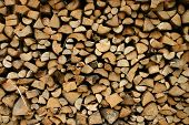 Neat Woodpile poster