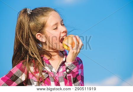 Apple Fruit Diet Kid Hold