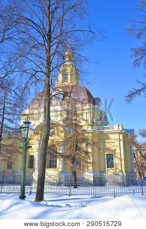 Poster: Peter And Paul Cathedral At