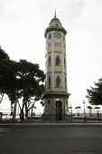 image of guayaquil  - famous clock tower malecon 2000 boulevard guayaquil ecuador south america - JPG