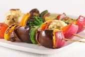 All Natural Grilled Vegetables
