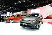 Nonthaburi - November 28: Toyota Vios Car On Display At The 30Th Thailand International Motor Expo O