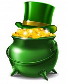 stock photo of leprechaun hat  - St - JPG
