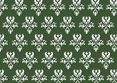 stock photo of png  - A PNG baroque patterned background - JPG