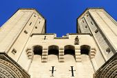 pic of avignon  - The Popes Palace in Avignon France UNESCO World Heritage Site - JPG