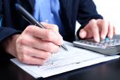 pic of income tax  - Filling the Form 1040 - JPG