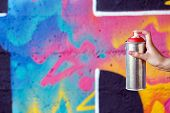 picture of spray can  - Vandalism - JPG