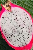 foto of flesh  - Dragon fruit  - JPG