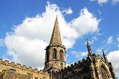 pic of church-of-england  - All Saints Parish Church Bakewell Derbyshire England UK Western Europe - JPG