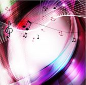 image of curvy  - Music background - JPG