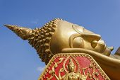 picture of recliner  - Reclining Buddha image in Vientiane Province - JPG