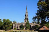 pic of church-of-england  - Parish Church of Saint Oswald Ashbourne Derbyshire England UK Western Europe - JPG
