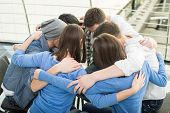 stock photo of counseling  - Circle of trust - JPG