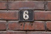 foto of numbers counting  - House numbers in different styles and colors  - JPG