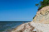 image of bluff  - Summer view on Panga cliff - JPG