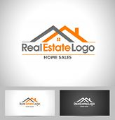 stock photo of logo  - Real Estate Logo Design - JPG