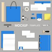 pic of letterhead  - Blank corporate identity kit or mock up for your business including Letterhead - JPG