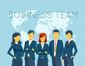 image of human resource management  - Business team - JPG