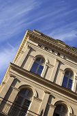 image of bordeaux  - Facade of a stylish hotel in Bordeaux France - JPG