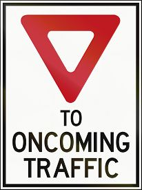 pic of traffic rules  - A Canadian traffic sign  - JPG