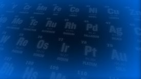 pic of periodic table elements  - Periodic table of elements - JPG