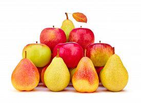 foto of food pyramid  - Fruits pears - JPG