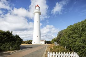 picture of inlet  - Split Point Lighthouse - JPG