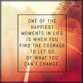 Inspirational Typographic Quote - One of the happiest moments in life poster