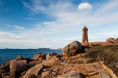 pic of por  - Pors Kamor lighthouse - JPG