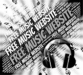 Free Music Website Represents With Our Compliments And Domains poster