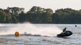 stock photo of waverunner  - Elk Poland  - JPG