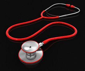 pic of three dimensional shape  - Stethoscope - JPG